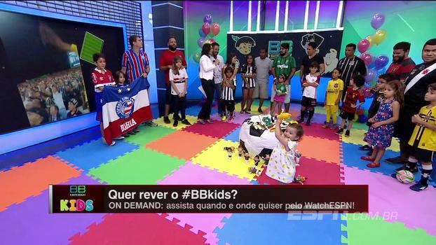 Pais contam como é passar aos filhos a paixão pelos seus times no BB Kids