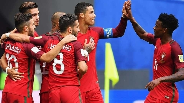 Copa das Confederações: Portugal 4 x 0 Nova Zelândia