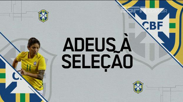 Lenda do futebol feminino, Cristiane explica motivos de se aposentar da seleção brasileira: 'Não tenho mais força'