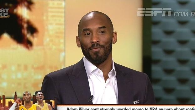 Kobe diz nunca ter descansado por pedido de técnico, mas defende LeBron: 'Merece a pausa'