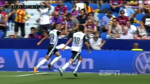 Em confronto direto pela LaLiga, Levante e Valencia ficam no empate