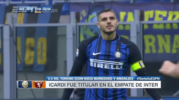 Assista aos melhores momentos do empate entre Internazionale e Torino, por 1 a 1