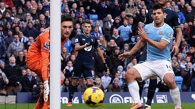 Clique para ver a goleada do Manchester City sobre o Tottenham