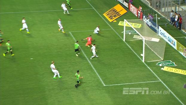 Veja o gol de América-MG 1 x 0 Juventude