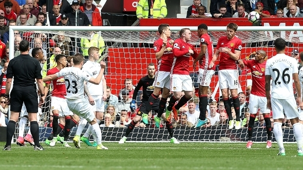 Premier League: Gols de Manchester United 1 x 1 Swansea