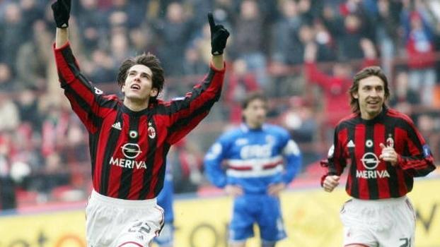 Milan contou com gols de Pirlo e Kaká para vencer a Samp em 2004, pelo Italiano; confira