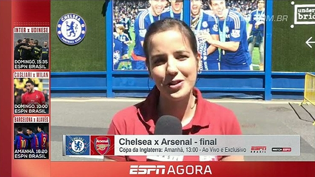 Sucesso de David Luiz e renovação de Alexis Sánchez; Natalie Gedra traz os bastidores de Chelsea e Arsenal