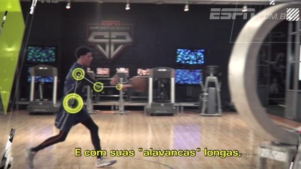 Provável escolha dos Lakers, Lonzo Ball testa seus passes incríveis no Sport Science