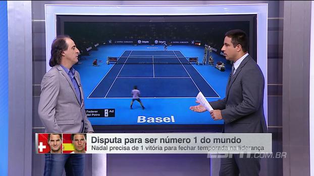 Fernando Meligeni avalia momentos e aponta motivos diferentes para Federer e Nadal priorizarem torneios
