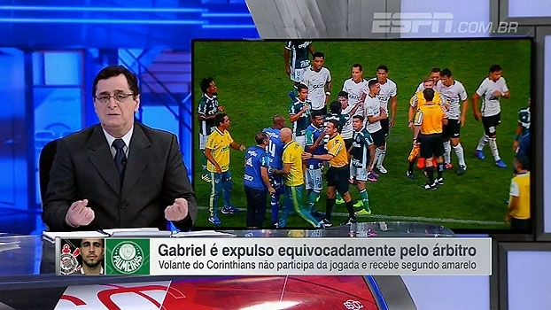 Antero comenta expulsão errada e clássico entre Corinthians e Palmeiras