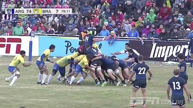 Brasil é atropelado pela Argentina no Americas Rugby Championship