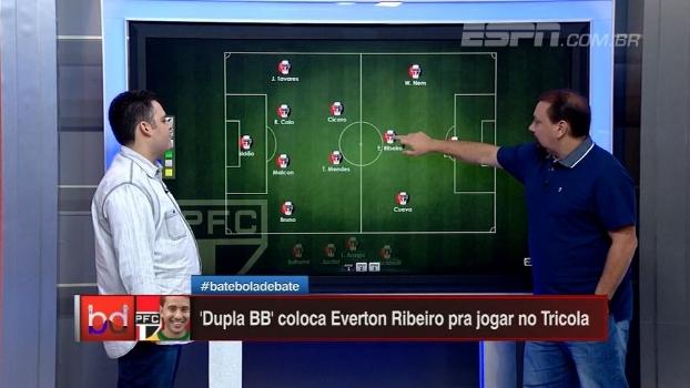 Como Éverton Ribeiro se encaixa no São Paulo? 'Dupla BB' explica!