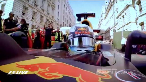 Desfile da F1 em Londres é eleito evento esportivo do ano no Reino Unido