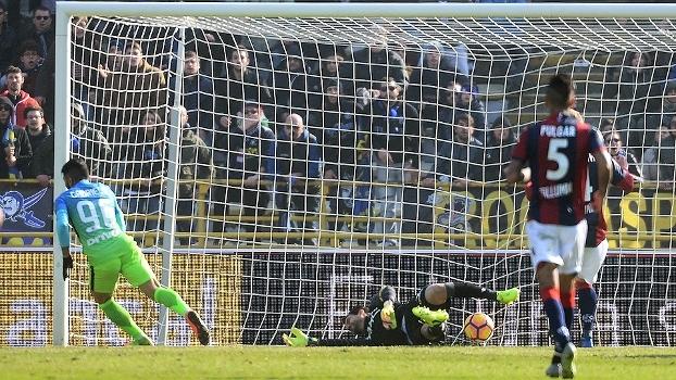Desencantou! Após 7 meses sem marcar, Gabigol faz seu 1º gol com a camisa da Internazionale