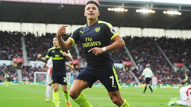 Premier League: Gols de Stoke City 1 x 4 Arsenal
