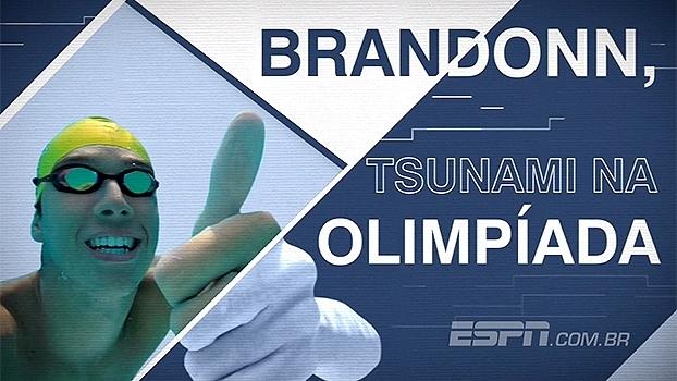 Jovem, mas experiente: nadador Brandonn de Almeida chega à Rio 2016 como forte candidato à medalha