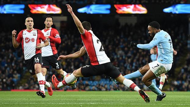 Assista aos melhores momentos de Manchester City 2 x 1 Southampton