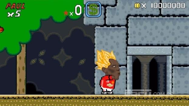 No 'Super Mario World', Pogba foca no visual e faz Mourinho se questionar: 'Por que?'