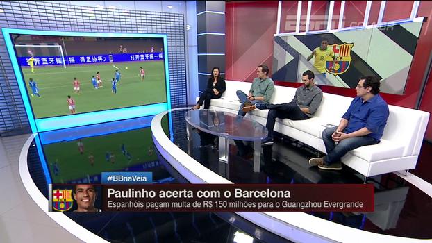 Paulinho corre risco de 'sumir' da seleção no Barça? Bate Bola analisa
