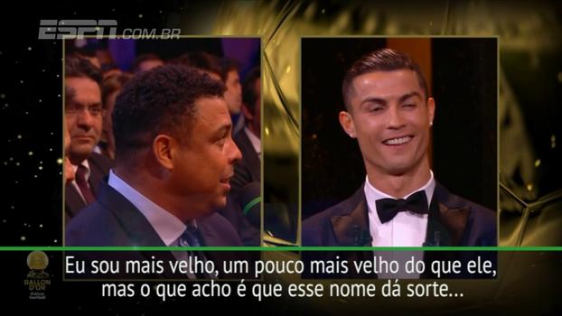 Diante de Cristiano, perguntaram ao Fenômeno quem é o verdadeiro Ronaldo; veja a resposta