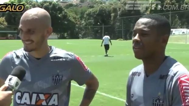 Robinho e Fábio Santos festejam ida à seleção e destacam o propósito do amistoso