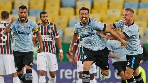Brasileiro: Gols de Fluminense 0 x 2 Grêmio