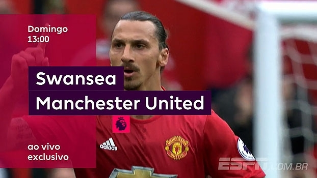 AO VIVO e EXCLUSIVO! Swansea x United se encaram neste domingo, às 13h, na ESPN Brasil e Watch