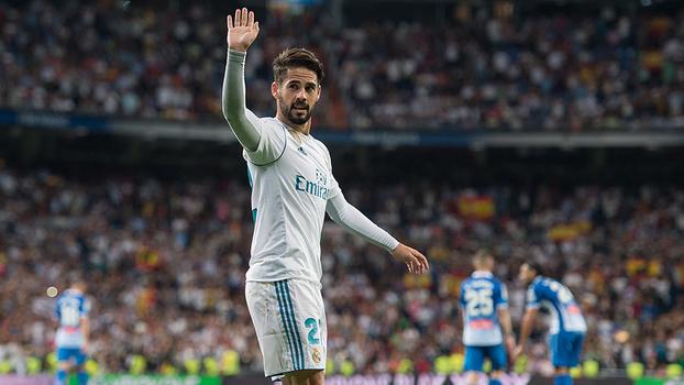 Veja os gols de Real Madrid 2 x 0 Espanyol