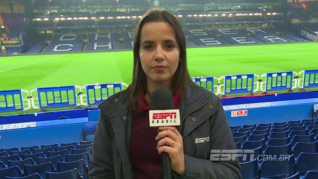 Com Willian, Gerson e Alisson, Natalie Gedra traz as informações do empate entre Chelsea e Roma