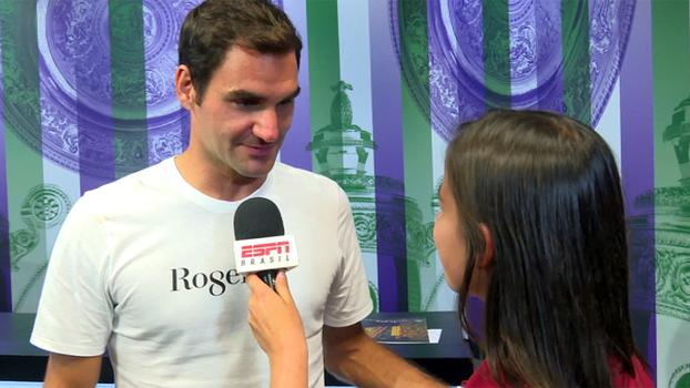 Em entrevista exclusiva, Federer se surpreende com idolatria mundial e coloca 8º título em Wimbledon entre maiores feitos: 'É realmente surreal'