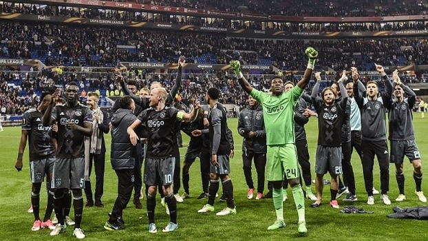 Europa League: Gols de Lyon 3 x 1 Ajax