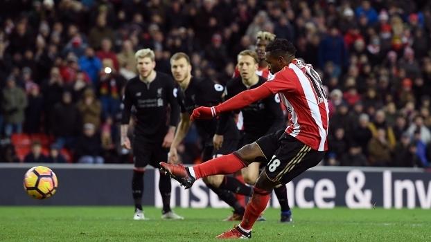 Premier League: Gols de Sunderland 2 x 2 Liverpool