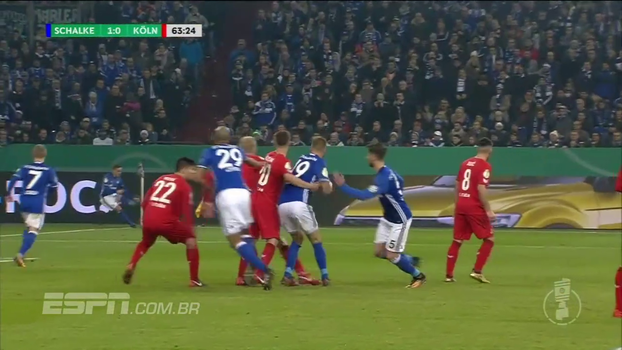 Assista aos melhores momentos da vitória do Schalke sobre o Colonia por 1 a 0!