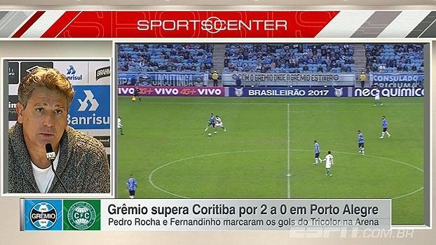Renato Gaúcho projeta confronto com Corinthians e elogia atacante do Grêmio: 'Melhor jogador do futebol brasileiro'