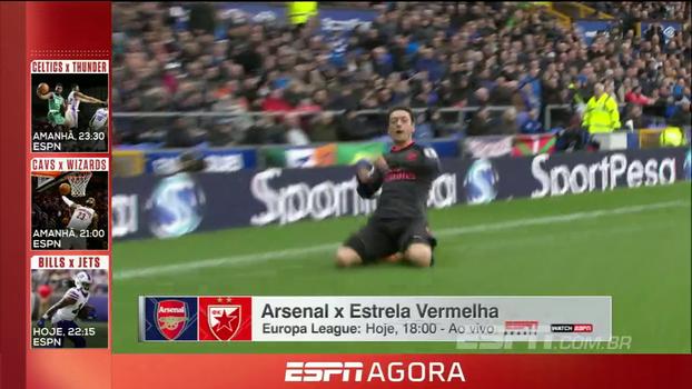 Jogos de Arsenal e Milan na Europa League, rodada da NFL e mais! Fique por dentro do melhor da ESPN no feriado