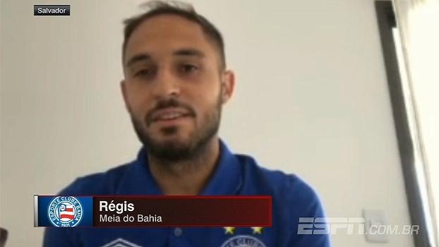 Régis fala de bom momento do Bahia e comenta seu futuro na equipe