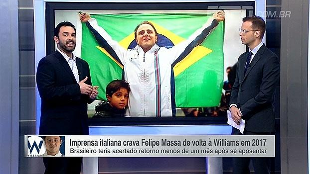Victor Martins vê Massa sob 'holofotes de iniciante' em possível retorno à Formula 1