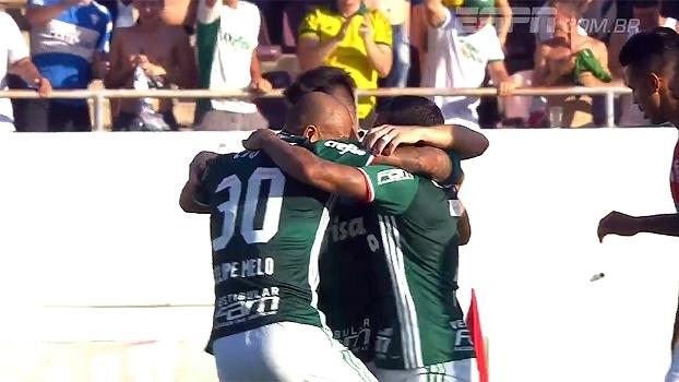 Lesão de Moisés, comemoração e gols de recém-chegados: a vitória do Palmeiras contra o Linense