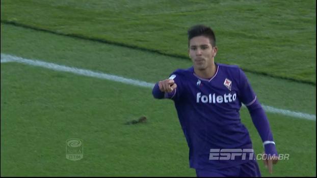 Filho de Simeone marca mais uma vez e Fiorentina vence o Sassuolo com tranquilidade