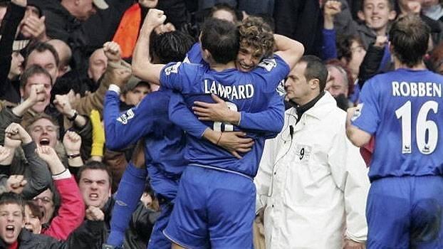 Com golaço de Lampard e gols de Crespo e Drogba, Chelsea passou pelo West Ham em 2006