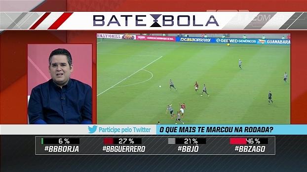 Bertozzi critica simulação de Zago: 'Quando jogador adversário fingir, vai falar o que?'