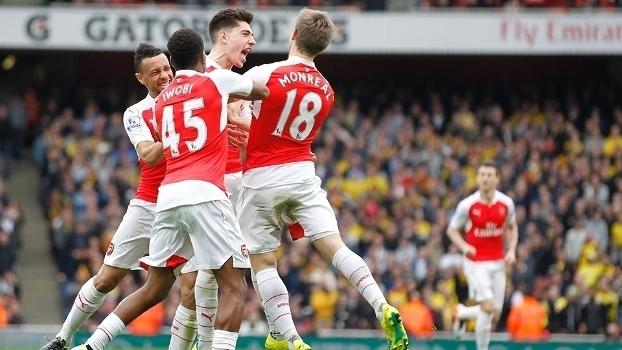 Inglês: Gols de Arsenal 4 x 0 Watford