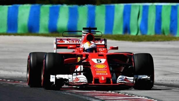 Veja os melhores momentos do treino classificatório do GP da Hungria, liderado por Vettel