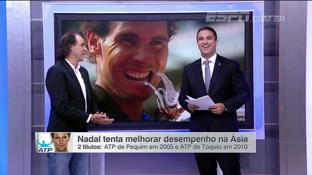 Fernando Meligeni analisa cansaço e avalia chances de Nadal na China