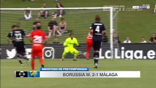 Veja os gols de Borussia Mönchengladbach 2 x 1 Málaga