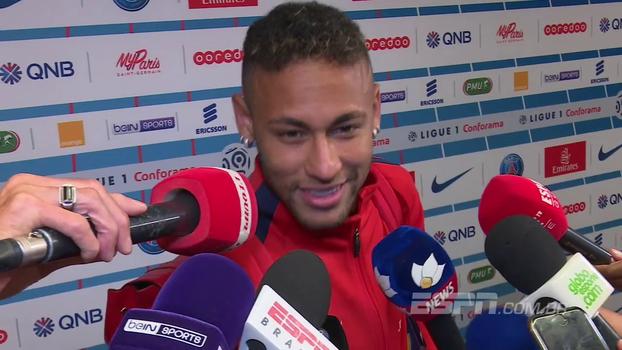 Neymar diz que precisa melhorar e se adaptar e fala sobre pênalti cobrado por Cavani: 'Não existe ciúme'