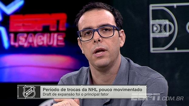 'ESPN League': Thiago Simões destaca período de trocas na NHL