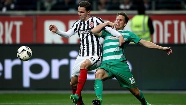 Eintracht Frankfurt busca dois gols no segundo tempo e empata em 2 a 2 com o Werder Bremen