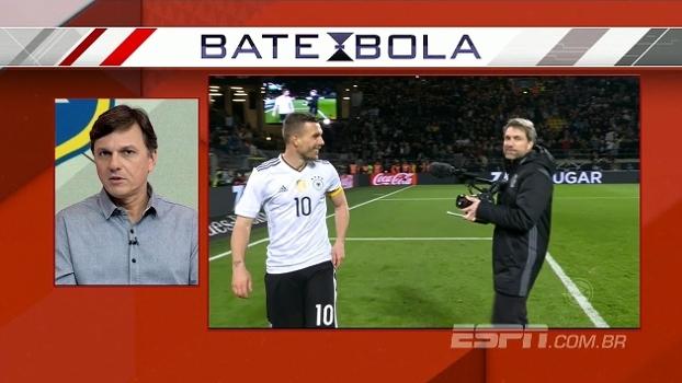 Podolski chegou a ser consultado pelo Fla após a Copa de 2014; Mauro explica