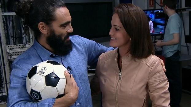 Jornalista, filha de Cuca faz pergunta ao pai durante o 'Resenha ESPN'; veja